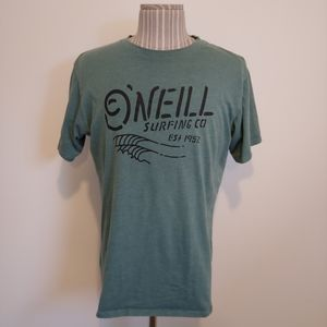 O'Neill Surfing Co. T-Shirt, Vintage Green, M